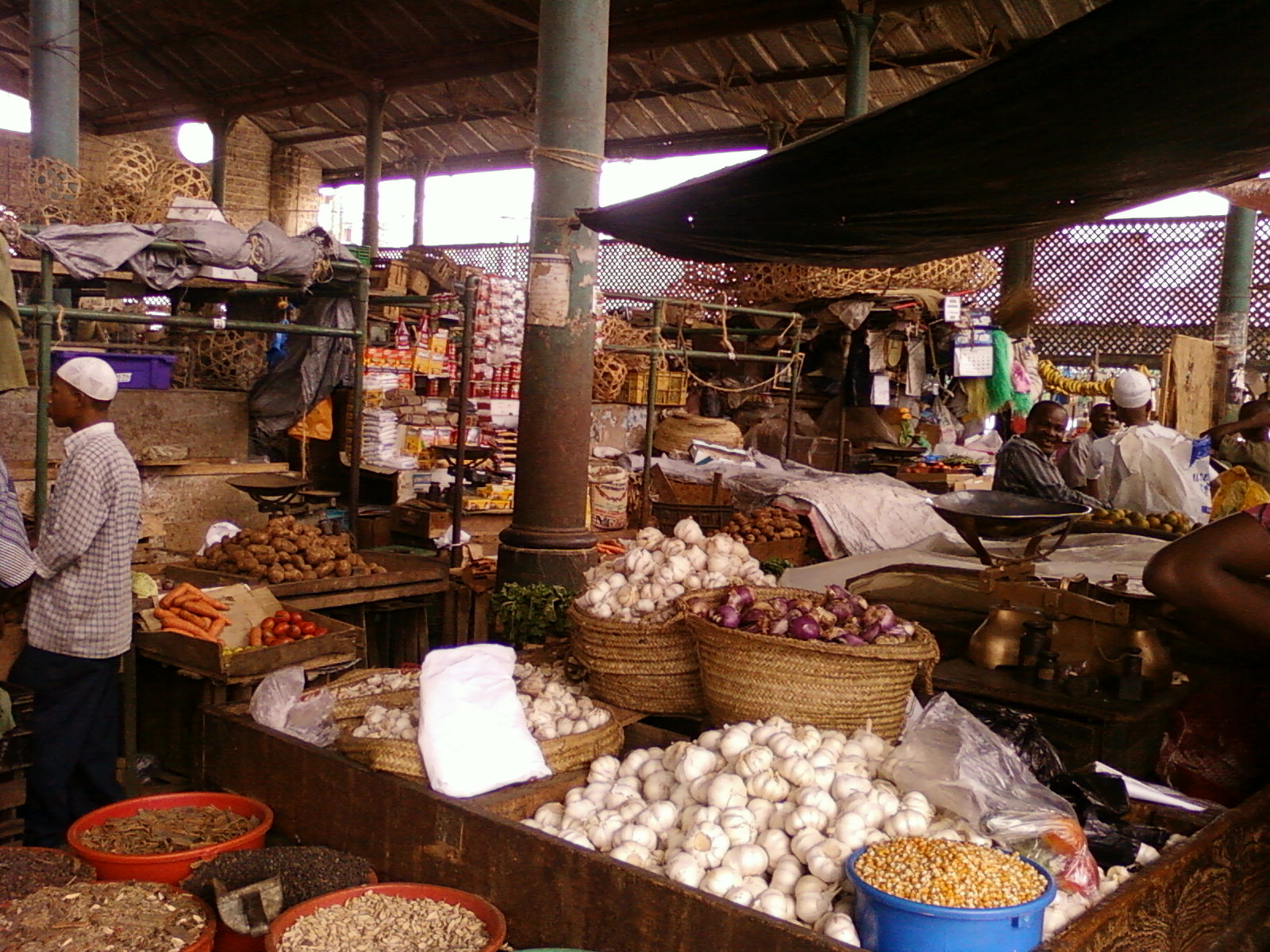 the mombasa spice market